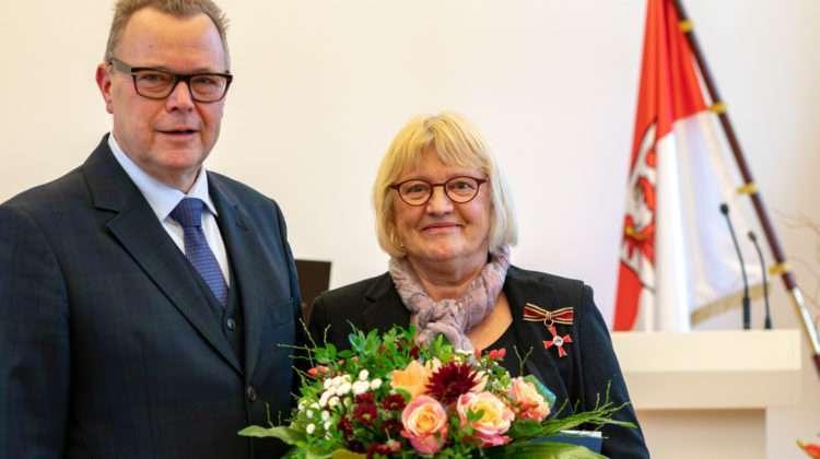 Uta Leichsenring geehrt mit dem Bundesverdienstkreuz