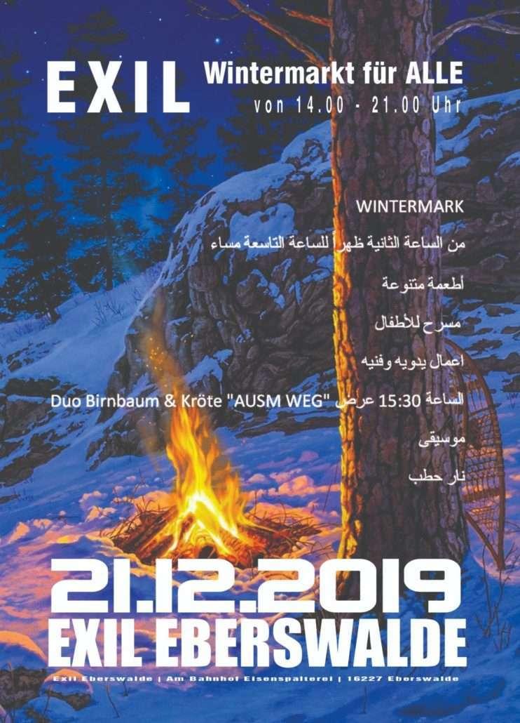 WINTERMARKT IM EXIL // 21.12.19